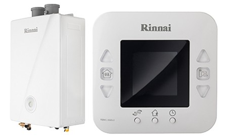 Rinnai mirai 24 kw erp con kit fumi coassiale climaonline for Caldaia 24 kw quanti mq