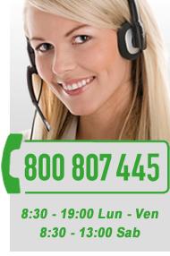 Numero Verde 800 807 445